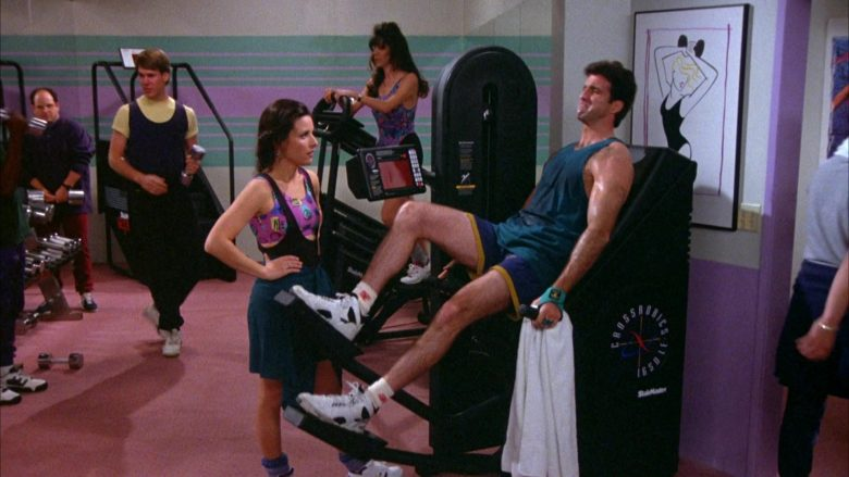 StairMaster CrossRobics in Seinfeld Season 5 Episode 17 The Wife (2)