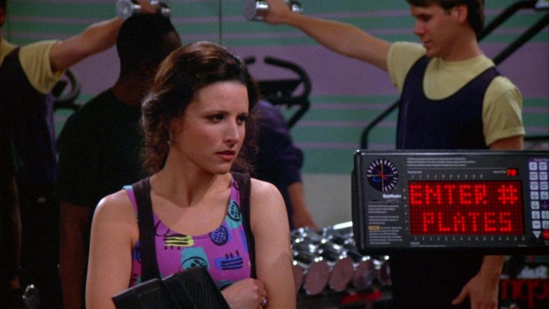 StairMaster CrossRobics in Seinfeld Season 5 Episode 17 The Wife (4)