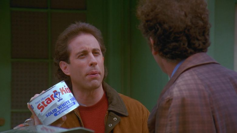 StarKist Solid White Tuna In Spring Water Held by Jerry in Seinfeld Season 7 Episode 11 The Rye (2)