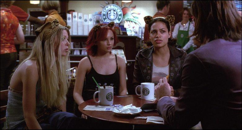 Starbucks Coffeehouse and Coffee Enjoyed by Rachael Leigh Cook, Rosario Dawson & Tara Reid (1)