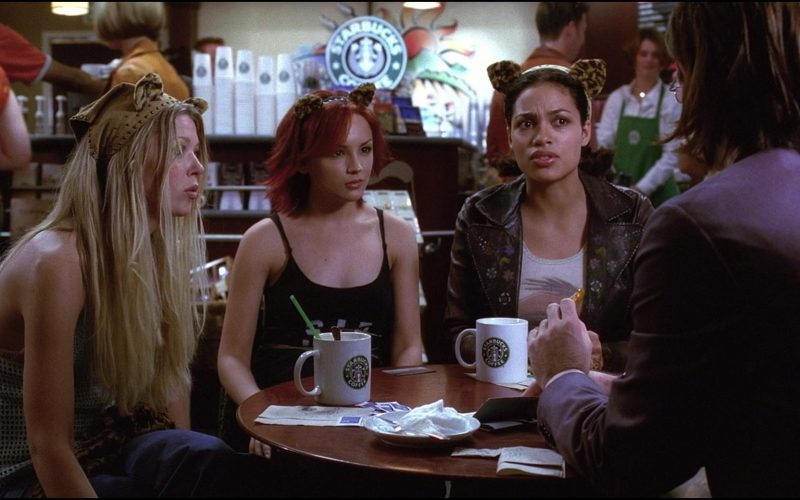 Starbucks Coffeehouse and Coffee Enjoyed by Rachael Leigh Cook, Rosario Dawson & Tara Reid (1)