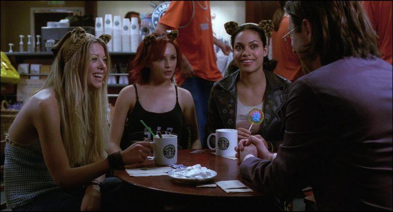 Starbucks Coffeehouse and Coffee Enjoyed by Rachael Leigh Cook, Rosario Dawson & Tara Reid (2)