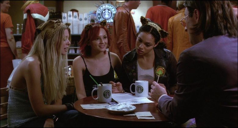 Starbucks Coffeehouse and Coffee Enjoyed by Rachael Leigh Cook, Rosario Dawson & Tara Reid (3)