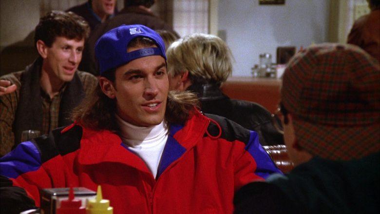 Starter Cap in Seinfeld Season 5 Episode 12 The Stall (1)