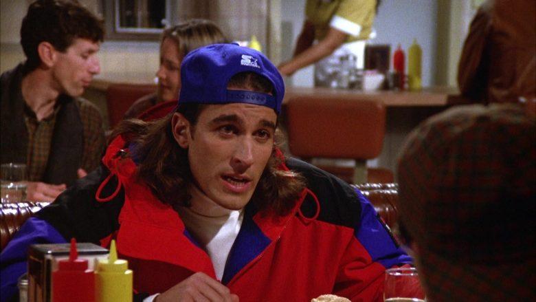 Starter Cap in Seinfeld Season 5 Episode 12 The Stall (2)