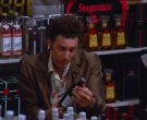 Stolichnaya, Seagram's, Cuervo in Seinfeld Season 5 Episode 13 The Dinner Party (1)