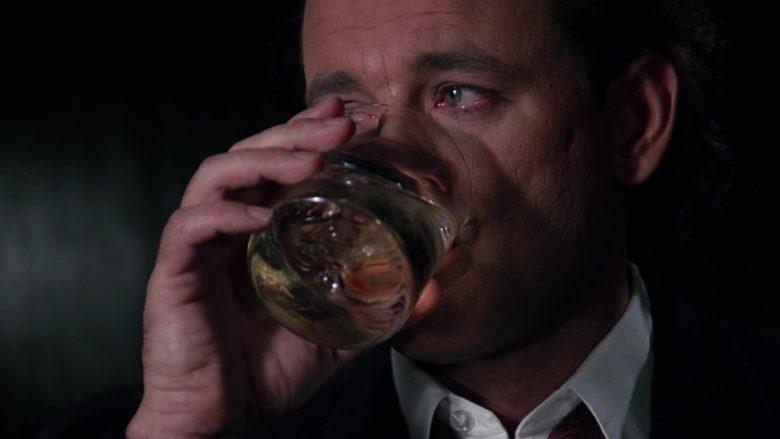 Stolichnaya Vodka and Tab Soda Enjoyed by Bill Murray in Scrooged Movie (4)