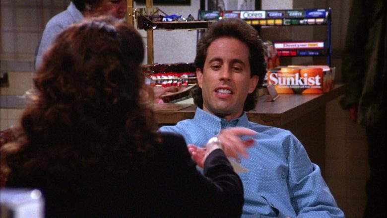 Sunkist Candy in Seinfeld Season 6 Episode 3 The Pledge Drive
