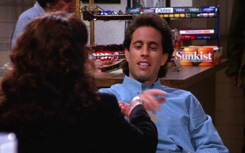 Sunkist Candy in Seinfeld Season 6 Episode 3 The Pledge Drive