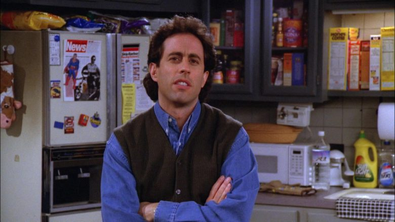 Sunlight Dishwashing Liquid in Seinfeld Season 6 Episode 14-15 The Highlights of 100