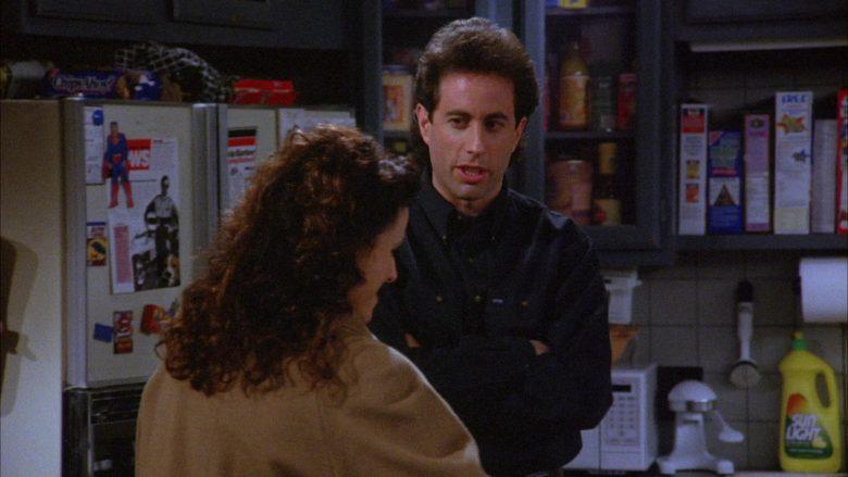 Sunlight Dishwashing Liquid in Seinfeld Season 6 Episode 17 The Kiss Hello (1)