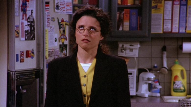 Sunlight Dishwashing Liquid in Seinfeld Season 6 Episode 22 The Diplomat's Club
