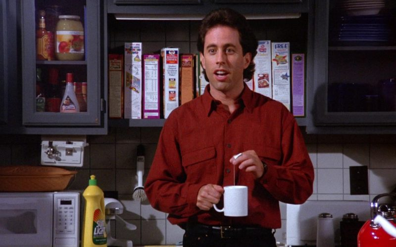 Sunlight Dishwashing Liquid in Seinfeld Season 6 Episode 5 The Couch