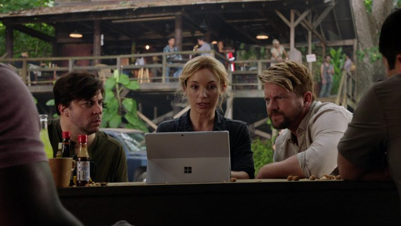 Surface Tablet by Microsoft Used by Perdita Weeks as Juliet Higgins, a former MI6 agent in Magnum P.I. Season 2 (1)