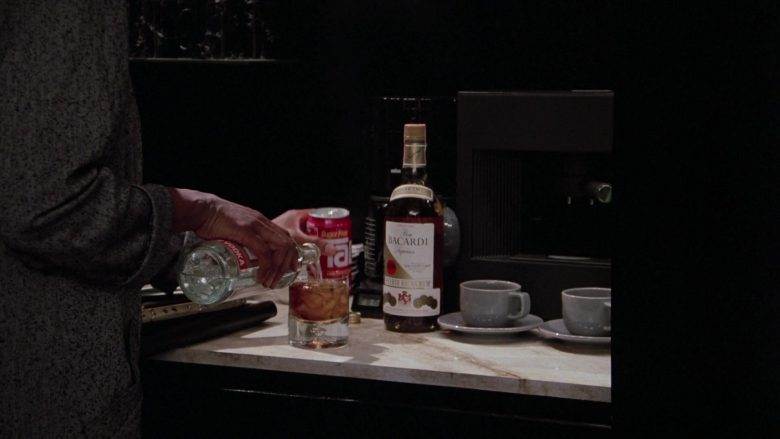 TAB Soft Drink and Bacardi Rum in Scrooged (1988) Movie
