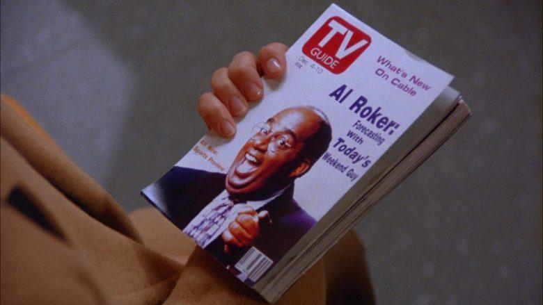 TV Guide Magazine Held by Julia Louis-Dreyfus as Elaine Benes in Seinfeld Season 5 Episode 10 (7)