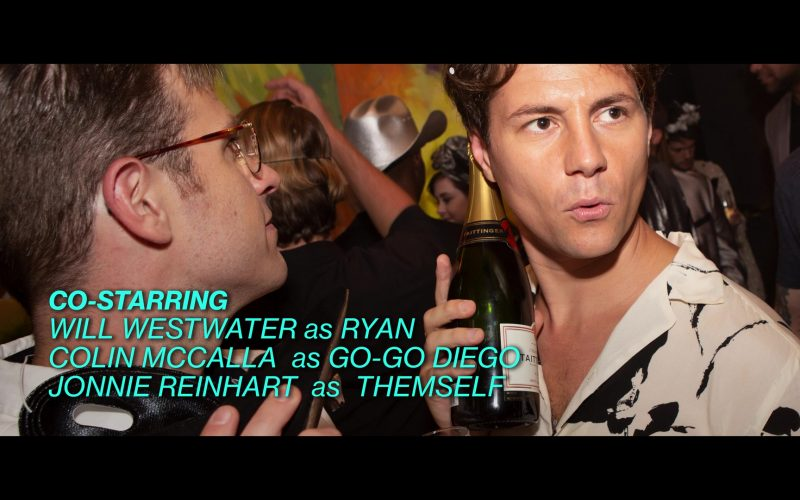 Taittinger Champagne in Into the Dark Season 2 Episode 4 Midnight Kiss