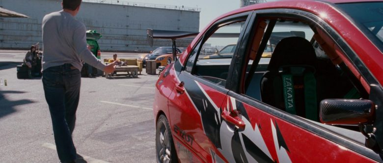 Takata Corporation Safety Car Belts in The Fast and the Furious Tokyo Drift (2)