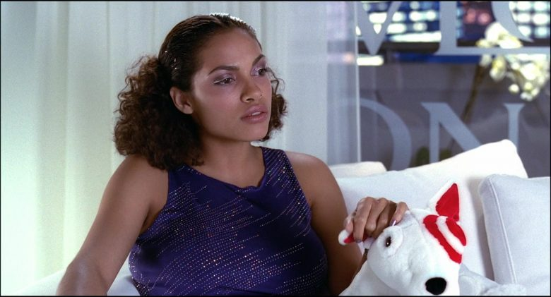 Target Store Dog Held by Rosario Dawson in Josie and the Pussycats