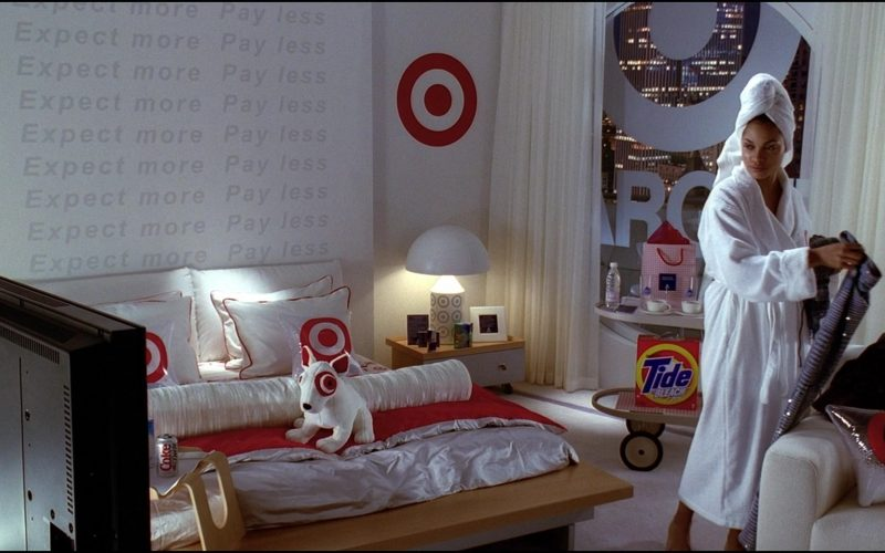 Target and Tide Bleach in Josie and the Pussycats