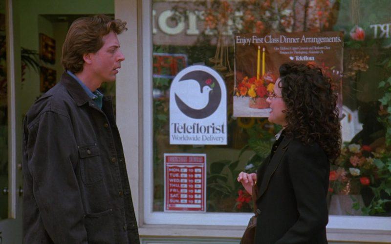 Teleflorist in Seinfeld Season 7 Episode 7 The Secret Code