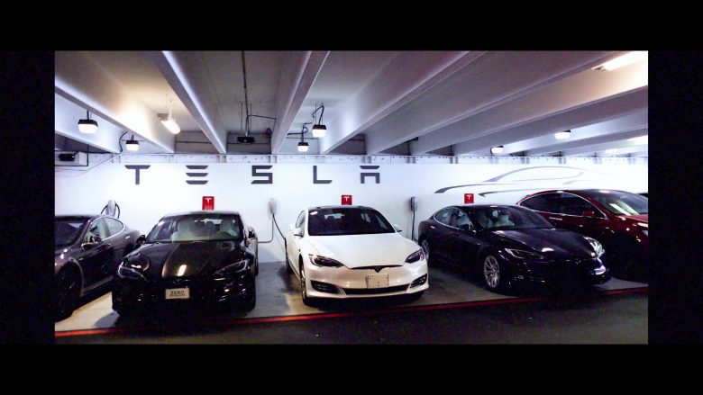 Tesla Cars in 6 Underground (2019) - Movie Product Placement