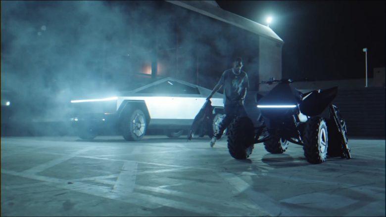 Tesla Cyberquad ATV in Gang Gang by Jackboys Sheck Wes, Don Toliver, Luxury Tax 50 & Cactus Jack (Travis Scott) (1)