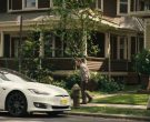 Tesla White Car in Mr. Robot Season 4 Episode 12 Series Finale Part 1 (4)