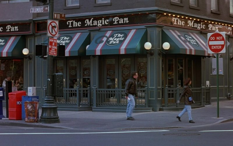 The Magic Pan Fast-Food Restaurant in Seinfeld Season 8 Episode 17 The English Patient