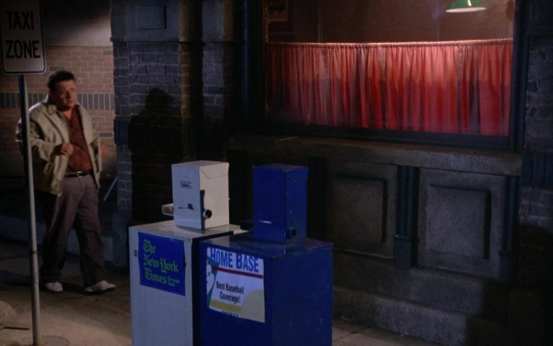 The New York Times in Seinfeld Season 5 Episode 4