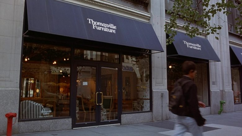 Thomasville Furniture Store in Seinfeld Season 6 Episode 5 The Couch