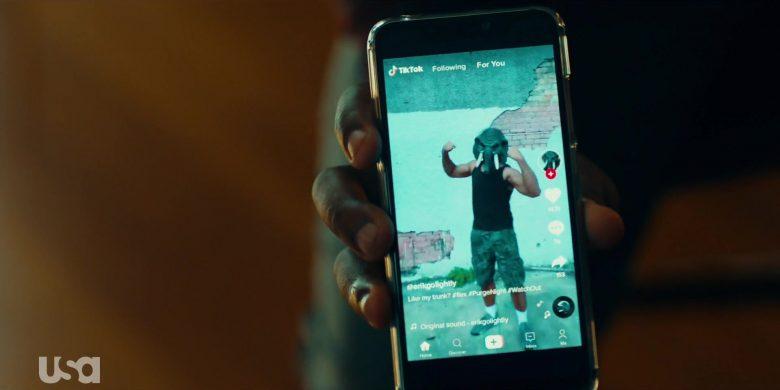 TikTok Social Media Video App in The Purge Season 2 Episode 8 Before the Sirens