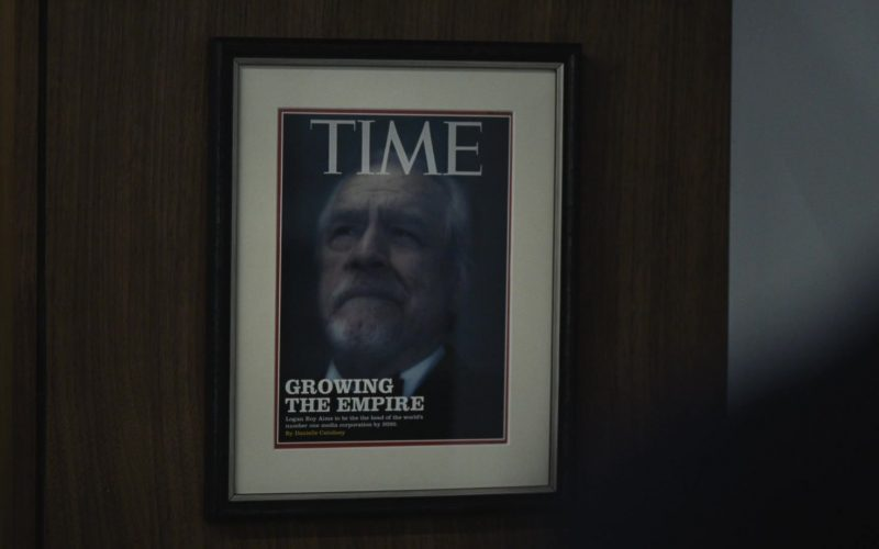 Time Magazine Cover in Succession Season 1 Episode 3 Lifeboats