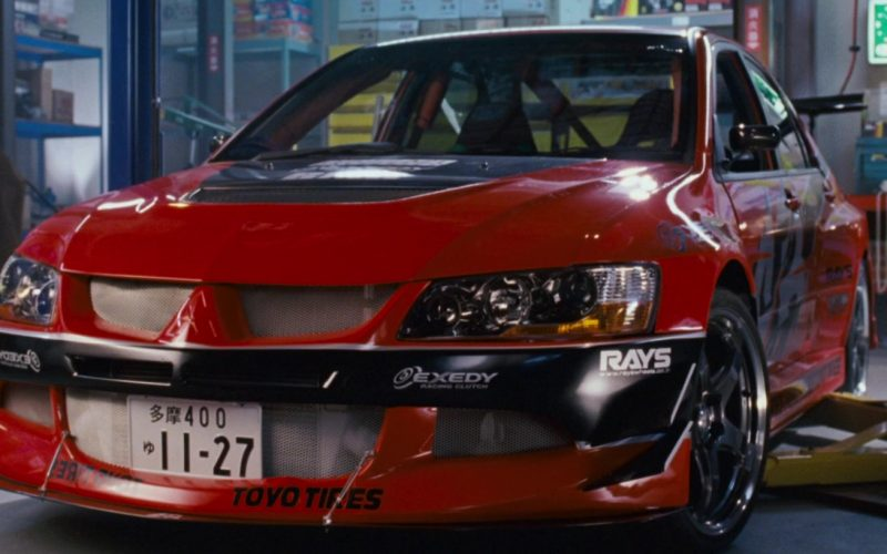 Toyo Tires, Exedy, Rays in The Fast and the Furious Tokyo Drift (2006)