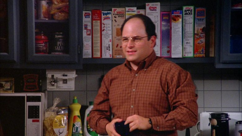 Triples Cereal by General Mills, Kellogg's Corn Flakes, Apple Jacks and Post Grape-Nuts in Seinfeld Season 5 Episode 16 (2)