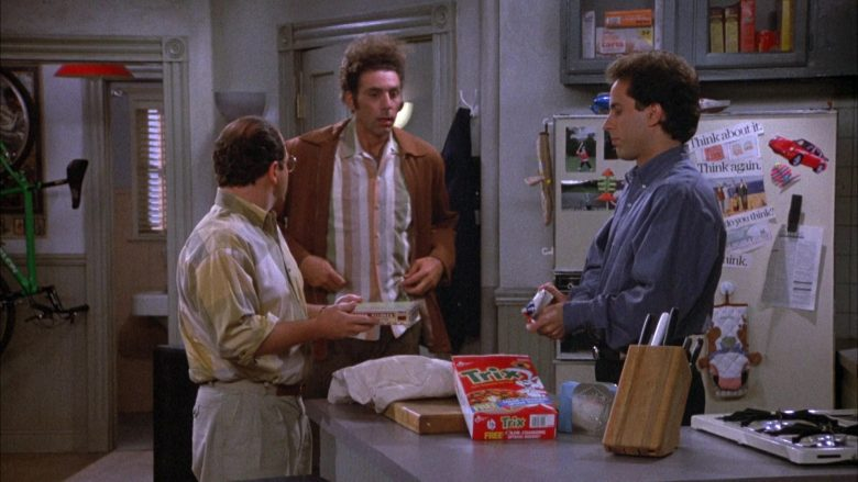 Trix Cereal By General Mills in Seinfeld Season 4 Episode 5 The Wallet (1)
