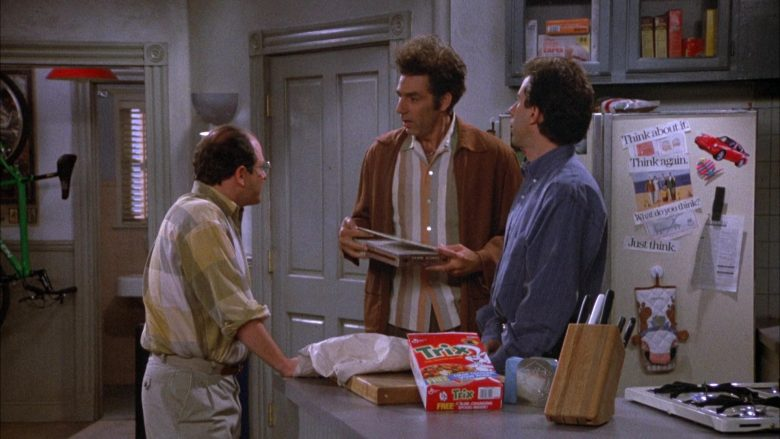 Trix Cereal By General Mills in Seinfeld Season 4 Episode 5 The Wallet (2)