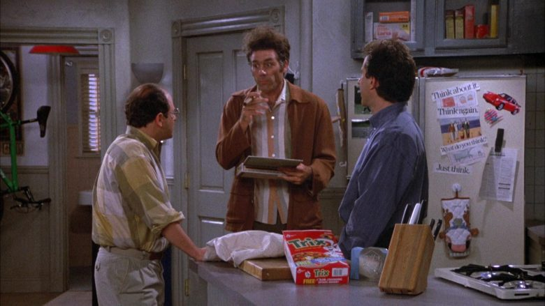 Trix Cereal By General Mills in Seinfeld Season 4 Episode 5 The Wallet (3)