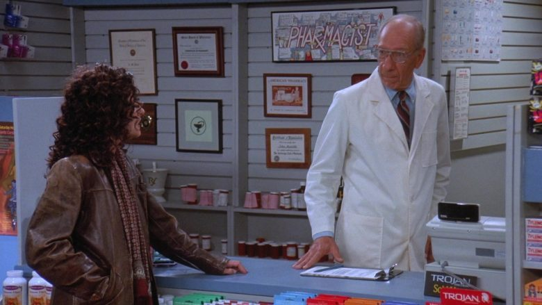 Trojan Condoms in Seinfeld Season 7 Episode 9 The Sponge (1)