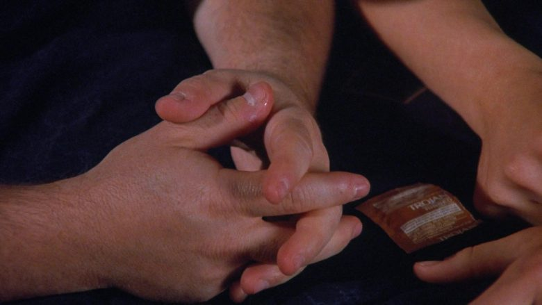 Trojan Condoms in Seinfeld Season 7 Episode 9 The Sponge (3)