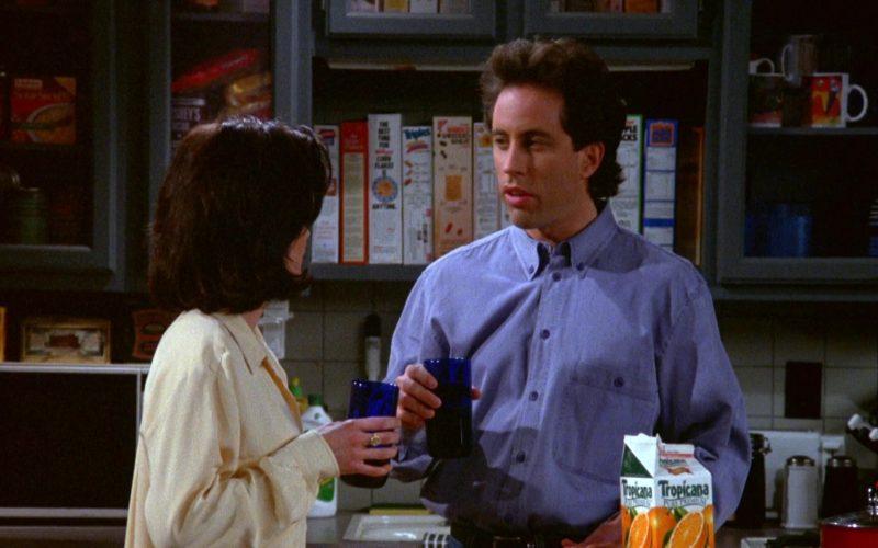 Tropicana Orange Juice in Seinfeld Season 5 Episode 17 The Wife (2)
