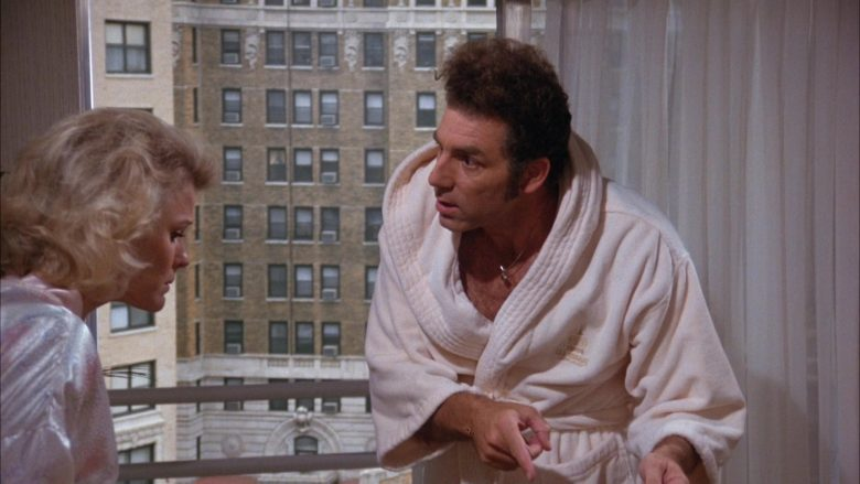 Trump Taj Mahal Hotel & Casino Atlantic City Robe Worn by Michael Richards as Cosmo Kramer in Seinfeld