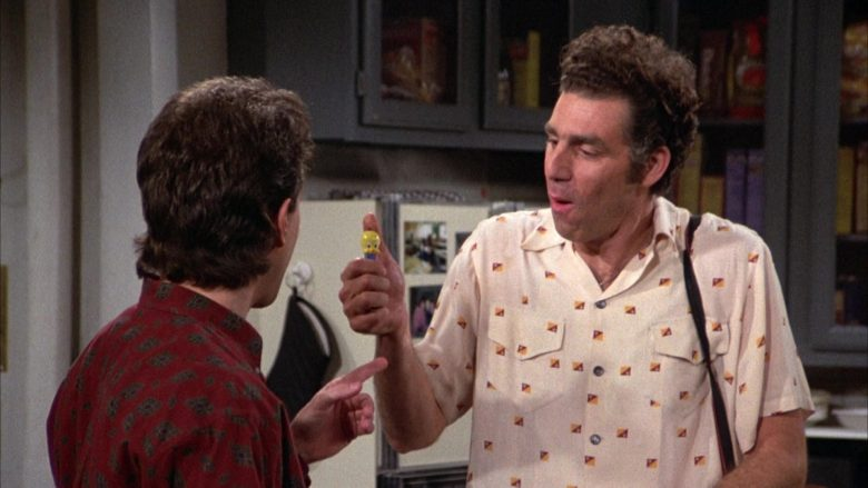 Tweety Pez in Seinfeld Season 3 Episode 14 The Pez Dispenser (1)