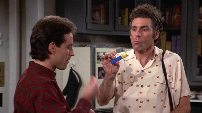 Tweety Pez in Seinfeld Season 3 Episode 14 The Pez Dispenser (3)