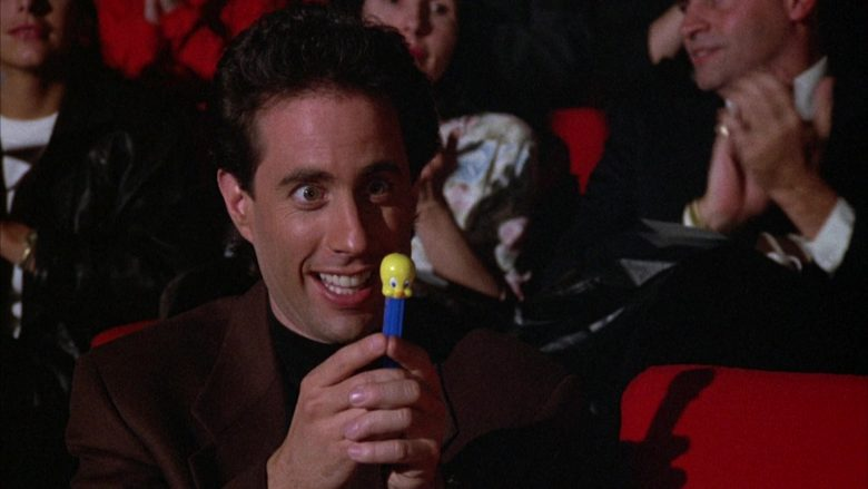 Tweety Pez in Seinfeld Season 3 Episode 14 The Pez Dispenser (9)