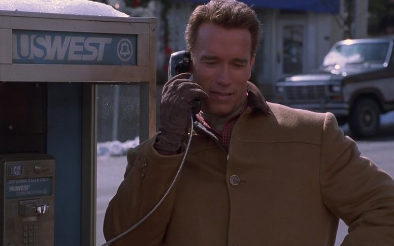 US West Payphone Used by Arnold Schwarzenegger in Jingle All the Way (1)
