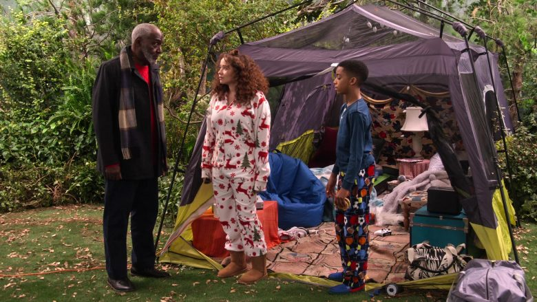 Ugg Boots Worn by Talia Jackson as Jade McKellan in A Family Reunion Christmas (1)
