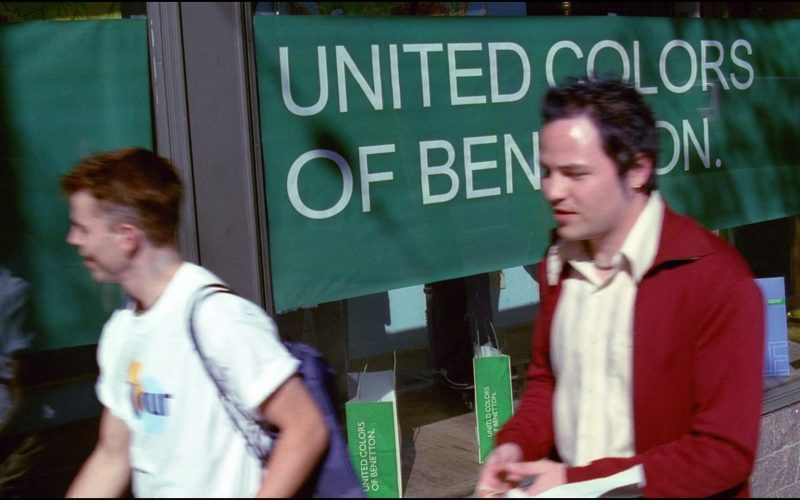 United Colors of Benetton Store in Josie and the Pussycats