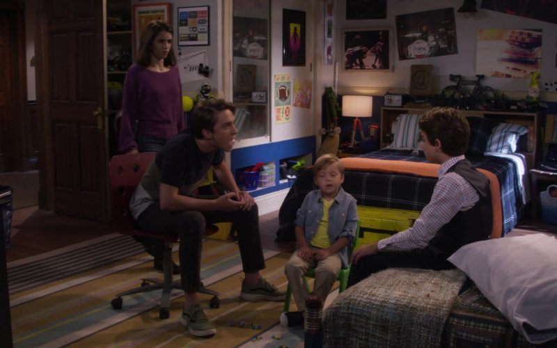 Vans Green Shoes Worn by Michael Campion as Jackson Fuller in Fuller House Season 5 Episode 7 (1)