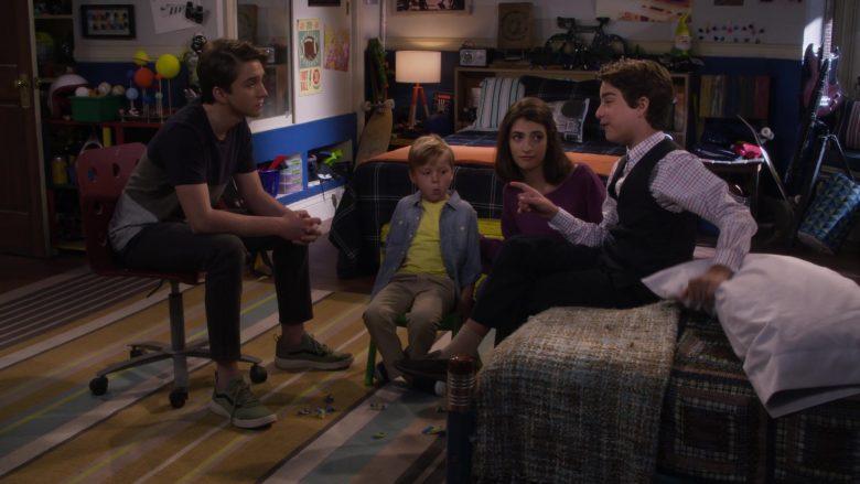 Vans Green Shoes Worn by Michael Campion as Jackson Fuller in Fuller House Season 5 Episode 7 (2)